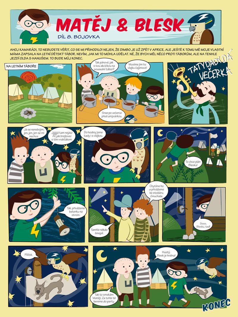 Matěj & Blesk díl č. 8