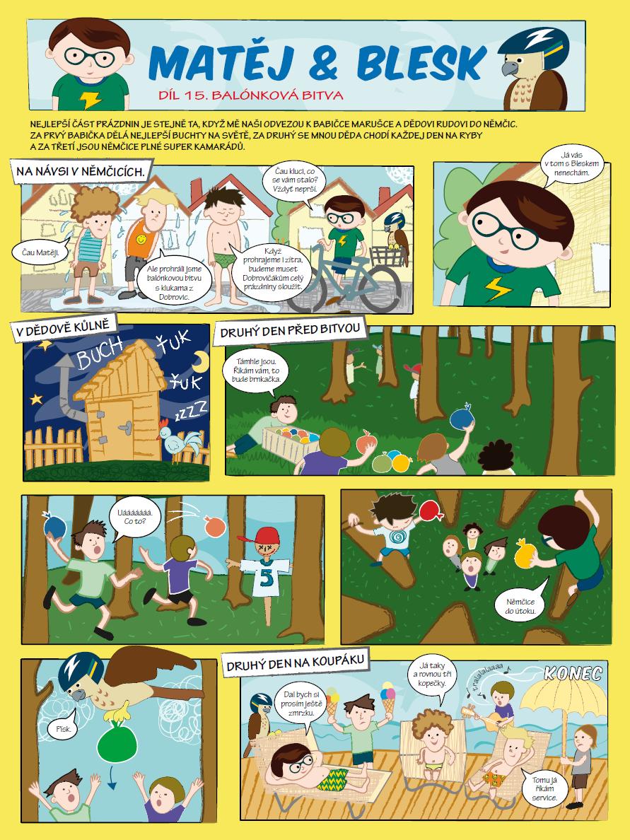 Matěj & Blesk díl č. 15