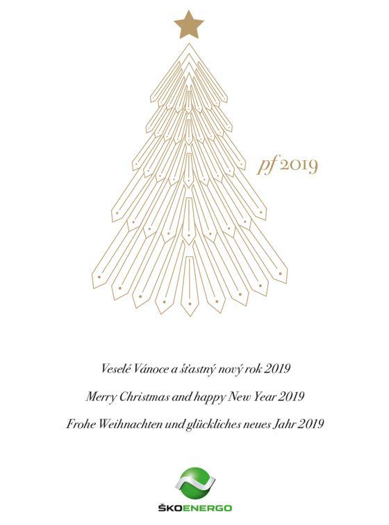 24.12.2018 - Klidné vánoční svátky a úspěšný rok 2019