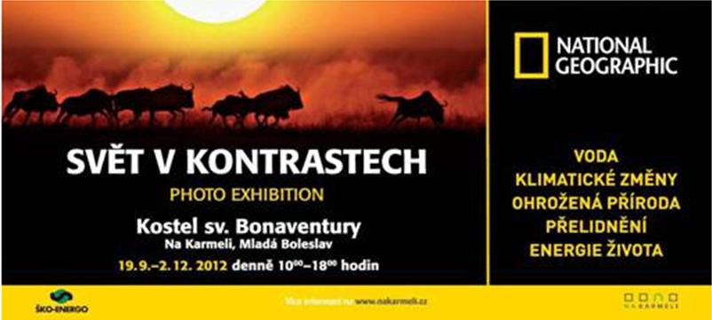 Výstava National Geographic: Svět v kontrastech