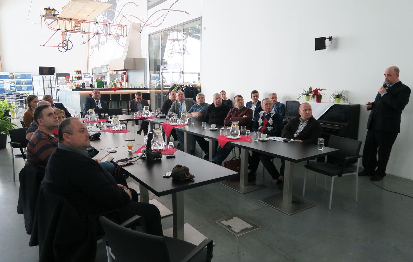 Setkání se zákazníky, leden 2017