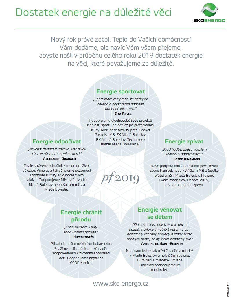 01/2019 - Dostatek energie na důležité věci