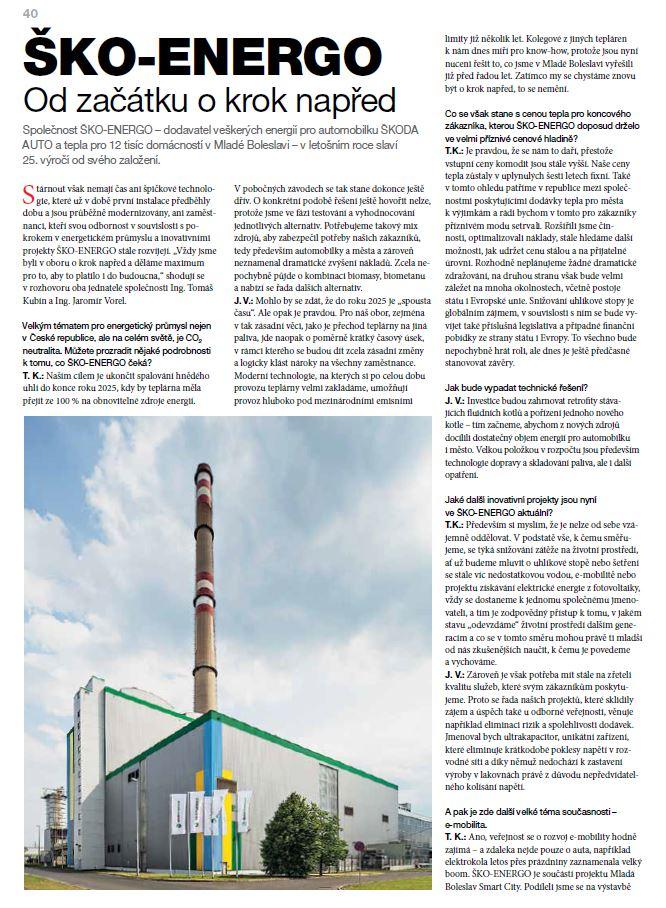 ŠKO-ENERGO - Od začátku o krok napřed