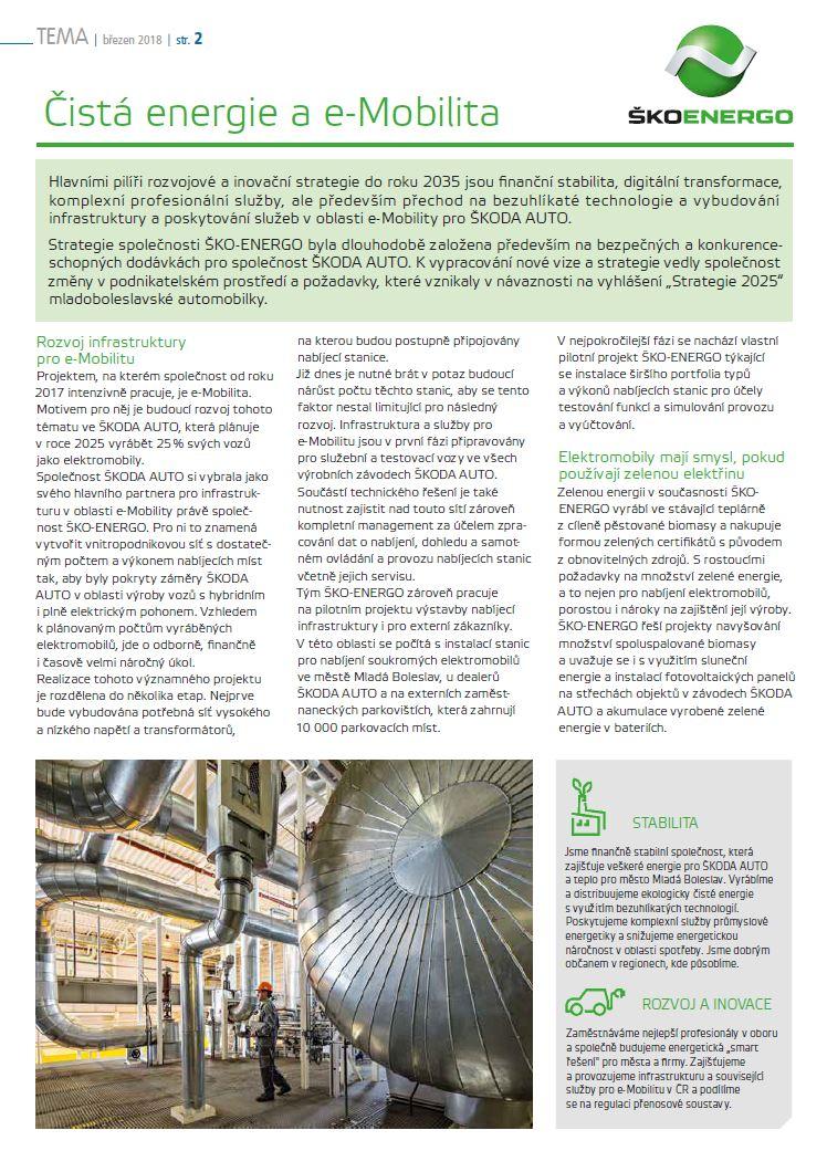 Čistá energie a e-Mobilita